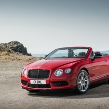 The V8 S is available as coupe and convertible