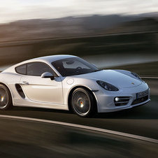 The rest of the car is similar to the Boxster