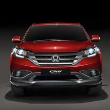 Honda CR-V Revealed for Europe