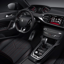 The interior of the new 308 GT has also been upgraded