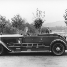 Mercedes-Benz Nürburg Fire chief vehicle