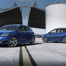 The 308 GT will be available in hatchback and station wagon bodystyles