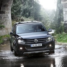 The Amarok now comes with a 180ps bi-turbo diesel