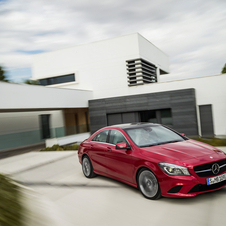 The new models are the A-Class, B-Class, CLA-Class and GLA-Class.