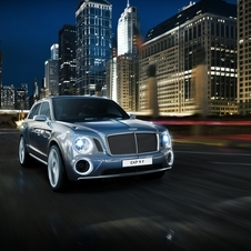 The Bentley CEO says that styling of the production version has been changed to be more Bentley-like