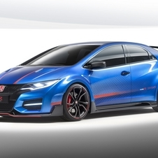 The Type-R is powered by a 2.0 turbo i-VTEC engine with over 280hp