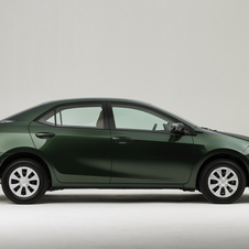 The new Corolla is longer and slightly lower