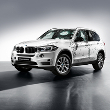 The new X5 Security Plus is capable of protection level VR6