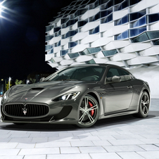 The Maserati GranTurismo MC Stradale replaces the rear seats that were taken out of the original MC Stradale