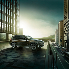 Der neue BMW X5 Security Plus