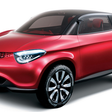 The Crosshiker is Suzuki's idea for a compact crossover