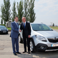 The Mokka has been quite successful in Europe