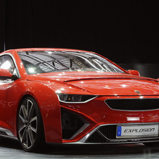 The Explosion is powered by a four-cylinder 1984cc engine, with 420hp and 520Nm