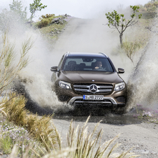 New Mercedes-Benz GLC is based on the same platform of the C-Class
