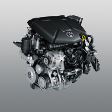 The diesel engine produces 111hp and 199lb-ft (270Nm) of torque with 119g/km of CO2