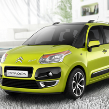 Citroën C3 Picasso VTi Exclusive