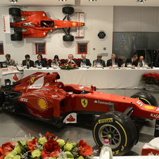 The 2013 Formula 1 car will be presented on Formula 1