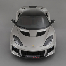 The name of the new version of the Evora comes from the 400hp output of the 3.5-liter V6 engine