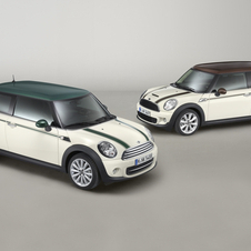 The Green Park is available on the Clubman, and the Hyde Park is available on both styles