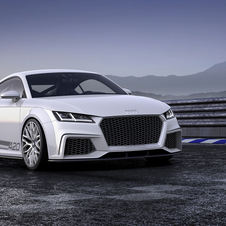 The TT quattro sport shows the performance abilities of the new generation TT