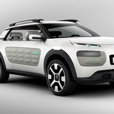 Citroën says the production version will retain the air bumps of the concept