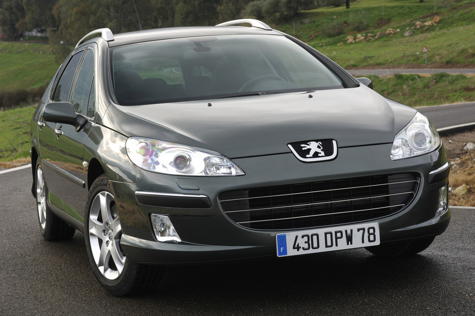 Peugeot 407 SW 2.2 HDi :: 1 photo and 65 specs :: autoviva.com