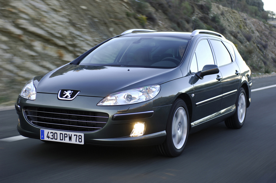 Peugeot 407 SW 2.7 V6 HDi :: 1 photo and 66 specs :: autoviva.com