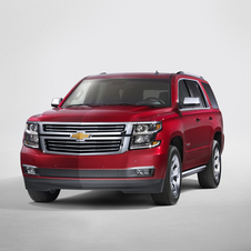 The Tahoe gets the 5.7-liter V8