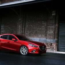 Mazda's newest model is the third generation Mazda3