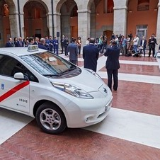 In Madrid, the Nissan Leaf is now part of the list of possible cars to integrate the taxi fleet