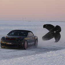 Bentley Continental Supersports Convertible 'Ice Speed Record' Edition