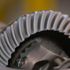 It is impossible for a human eye to examine all of the sides of the gear teeth simultanously