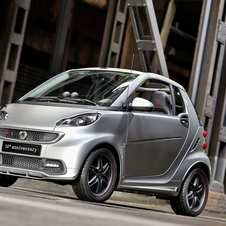 Brabus has built 50,000 special edition Smarts since 2002