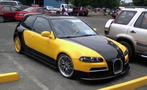 92 Honda Civic thinks its a Veyron, makes us chuckle