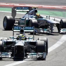 Mercedes has had more pole positions this year than any other team