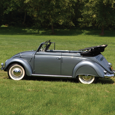 Volkswagen Beetle Cabriolet by Karmann