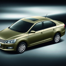 Volkswagen offers the Santana in China