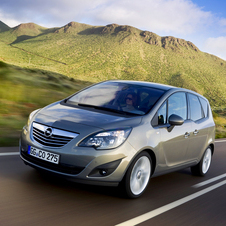 Among the new cars will likely be the new Meriva