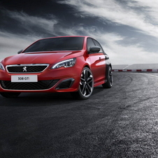 The 308 GTI gets the same 1.6-liter THP petrol engine used previously on the RCZ R
