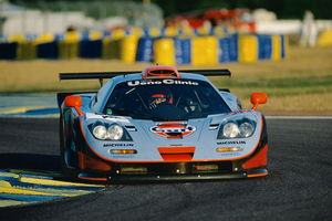 There is also the Gulf-liveried F1 GTR