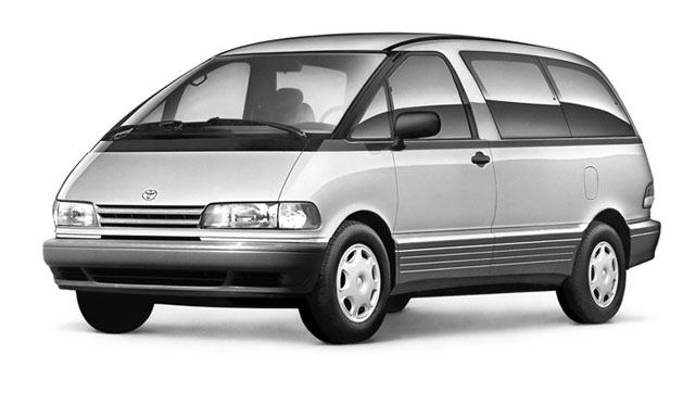 Toyota Previa Automatic :: 2 photos and 51 specs :: autoviva.com