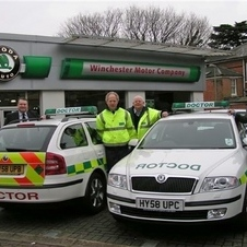 Skoda Octavia Estate 2.0 TDI Paramedic vehicle