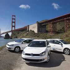 Volkswagen Begin E-Golf Test in US