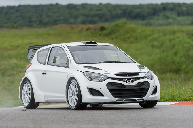 Hyundai intends the i20 to debut at the 2014 Rallye Monte Carlo