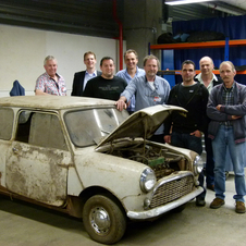 The car was found in a barn in the Netherlands