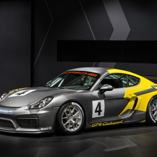 The Cayman GT4 Clubsport is powered by a 3.8-litre flat-six engine, positioned directly behind the driver's seat