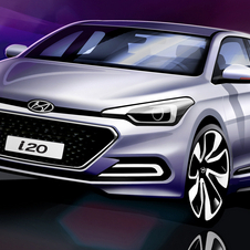 The new i20 will be unveiled at the Paris Motor Show in October