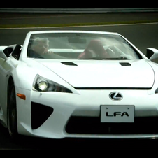 The LFA Spyder is the only one in the world