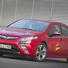 The Opel Ampera is being tested to create a new generation of navigation systems