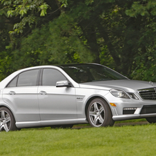 Mercedes-Benz E-Class E63 AMG Sedan (USA)